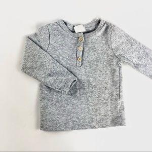 H&M Organic Cotton long sleeve shirt